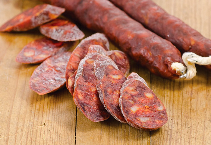 Chorizo, ready to eat